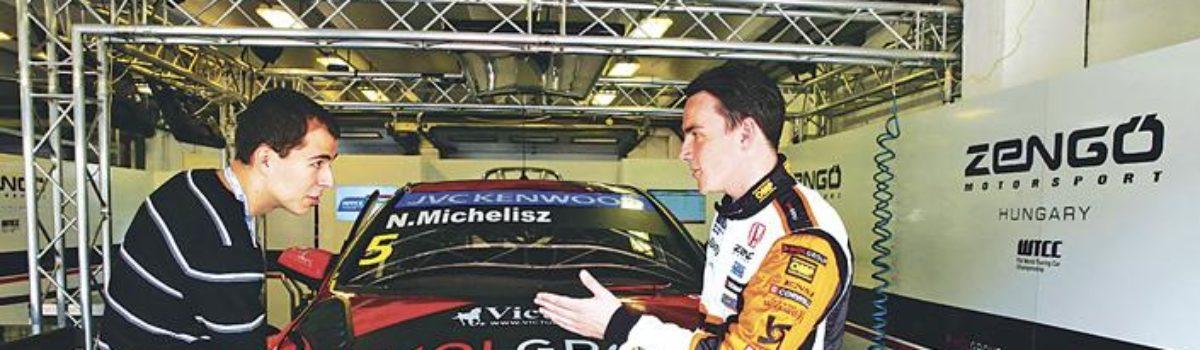 Pozsik Gergő a Zengő Motorsport és Michelisz Norbi designere lett!
