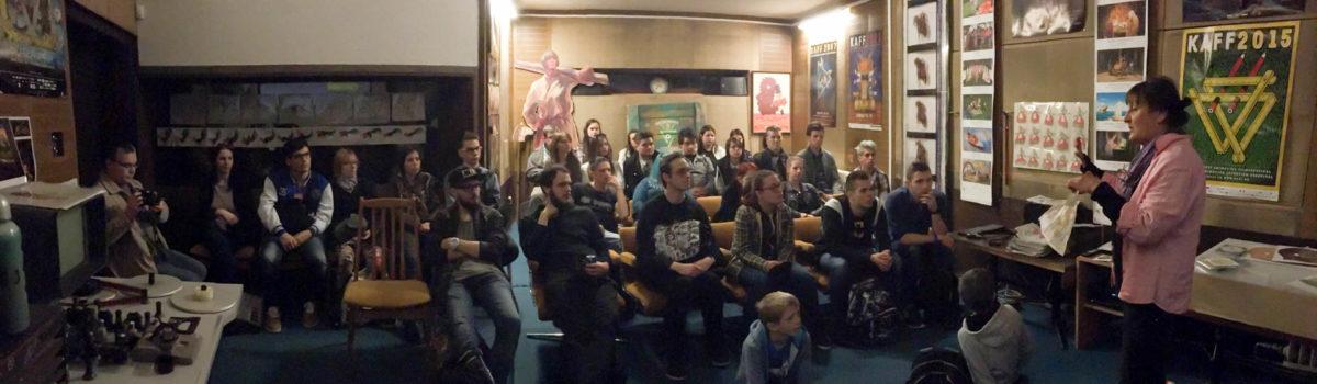 Látogatás a Kecskemétfilm Kft. animációs műhelyeiben